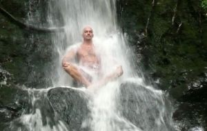 Waterfall meditation for Cold Water Training Personal Training Vancouver